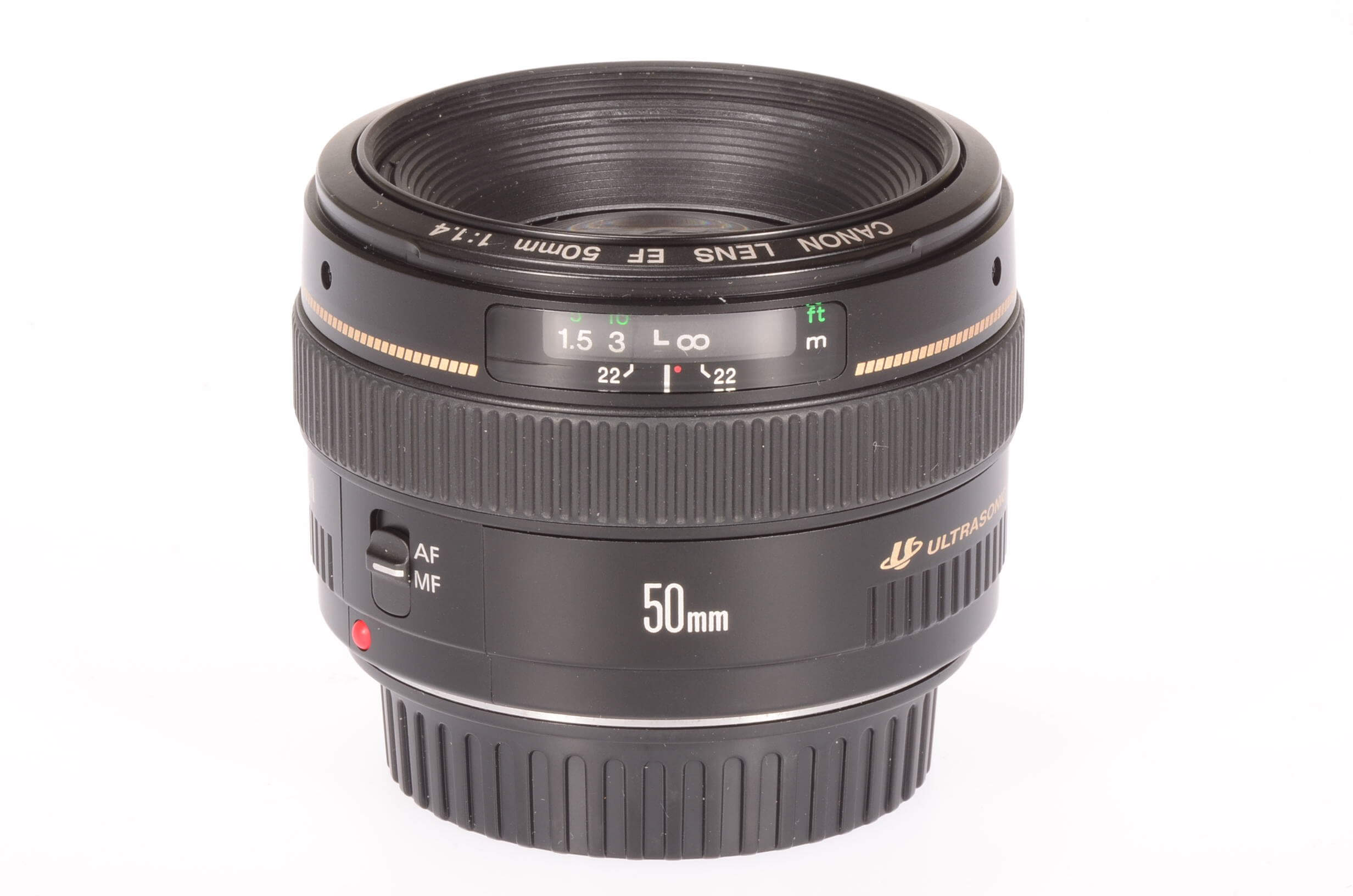 Canon 50mm f1.4 USM lens, mint!