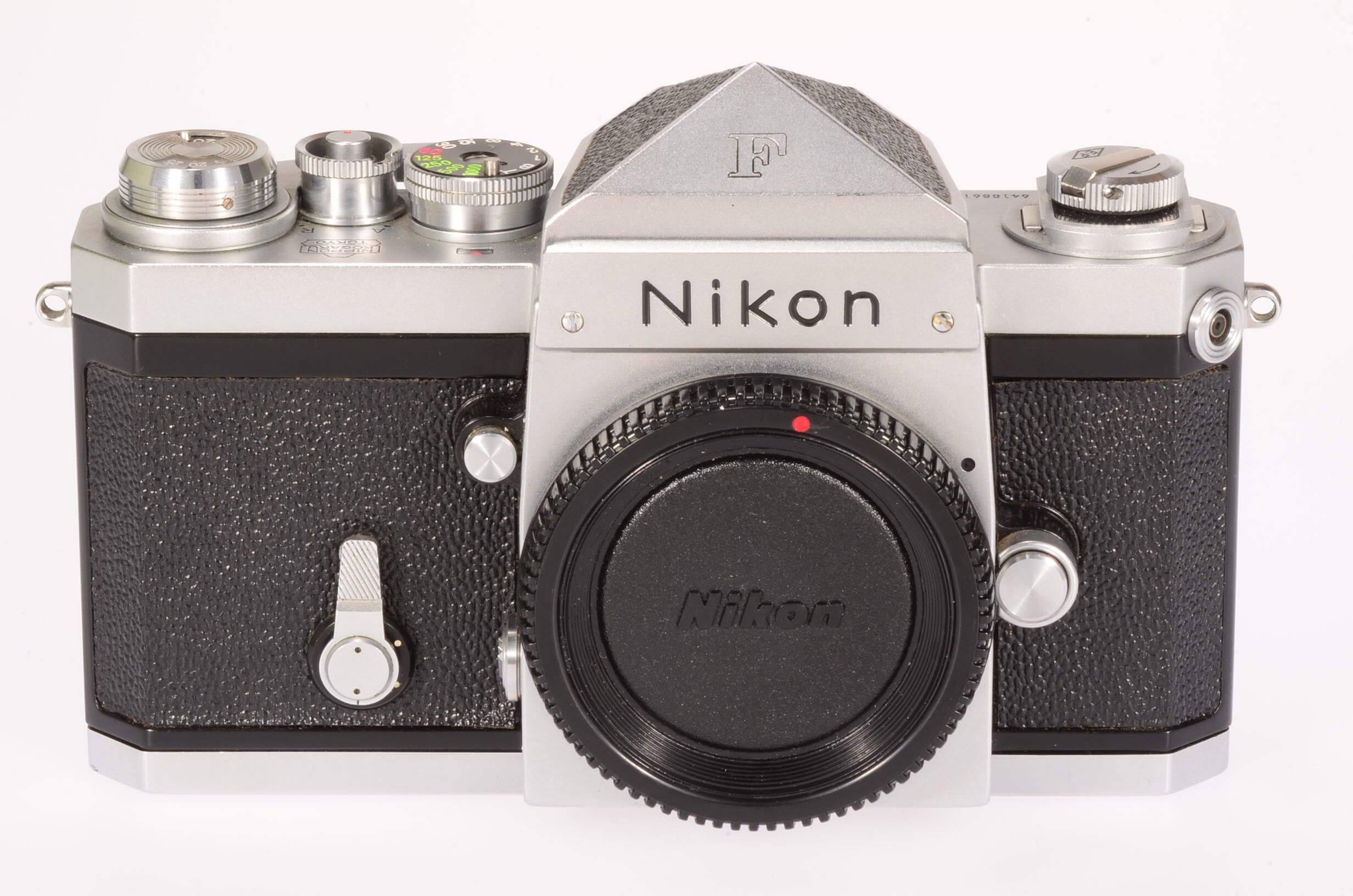Nikon F body, early, with EP markings, exceptional condition!
