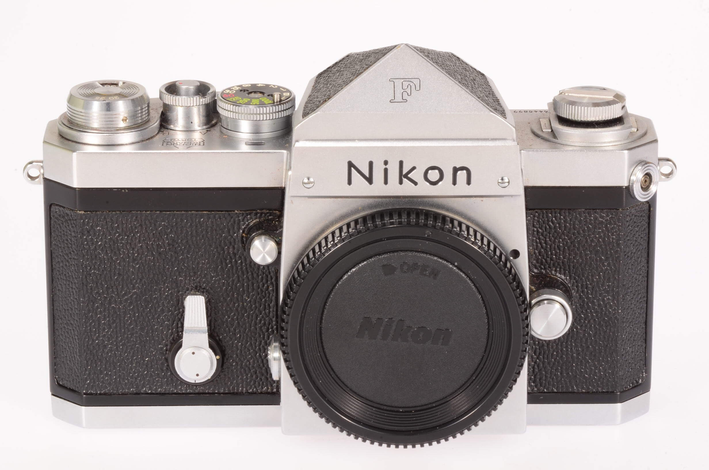 Nikon F body, early, exceptional condition!