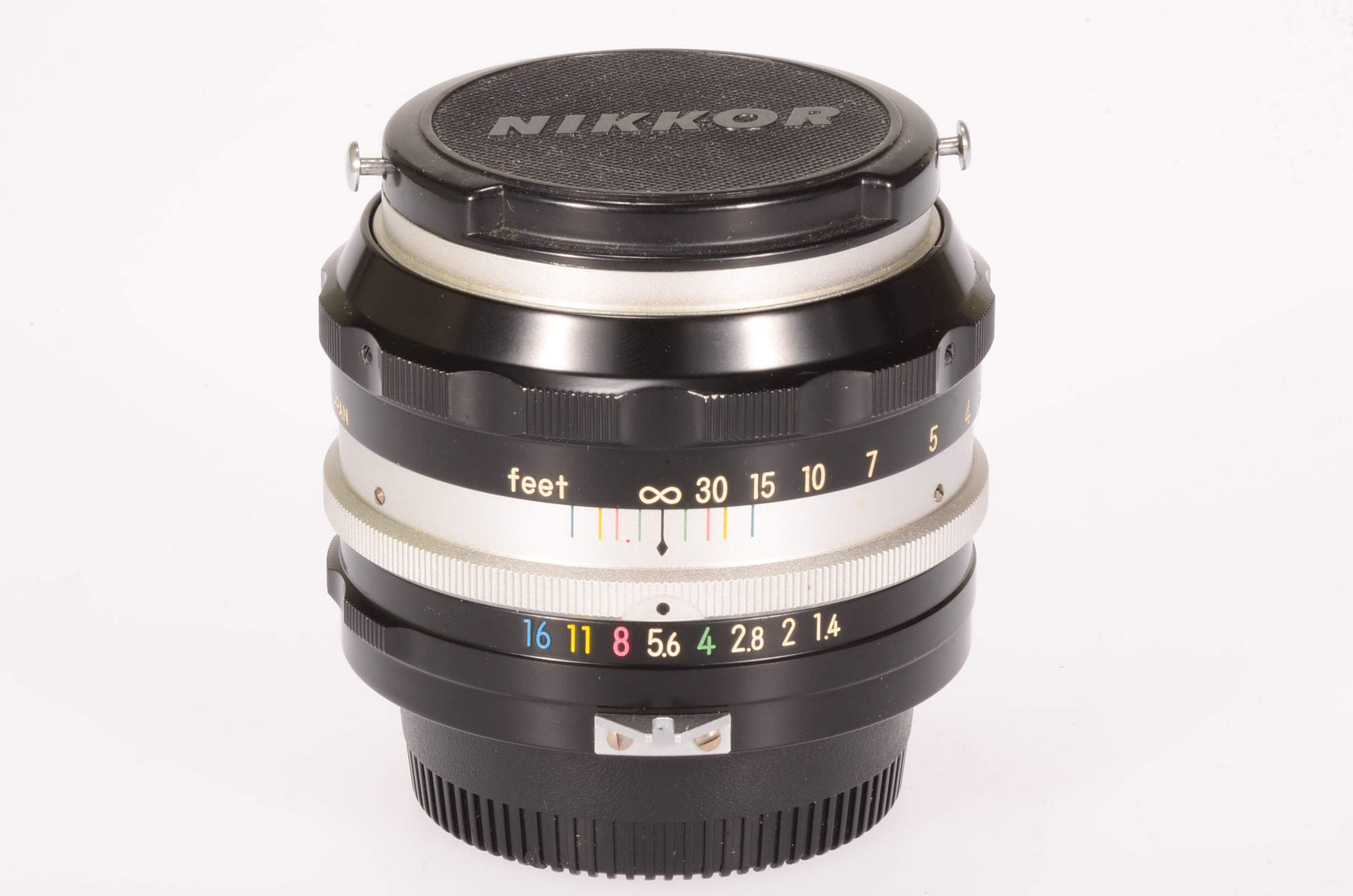 Nikon 50mm f1.4 Nikkor, pre-AI, serviced, exceptional condition!