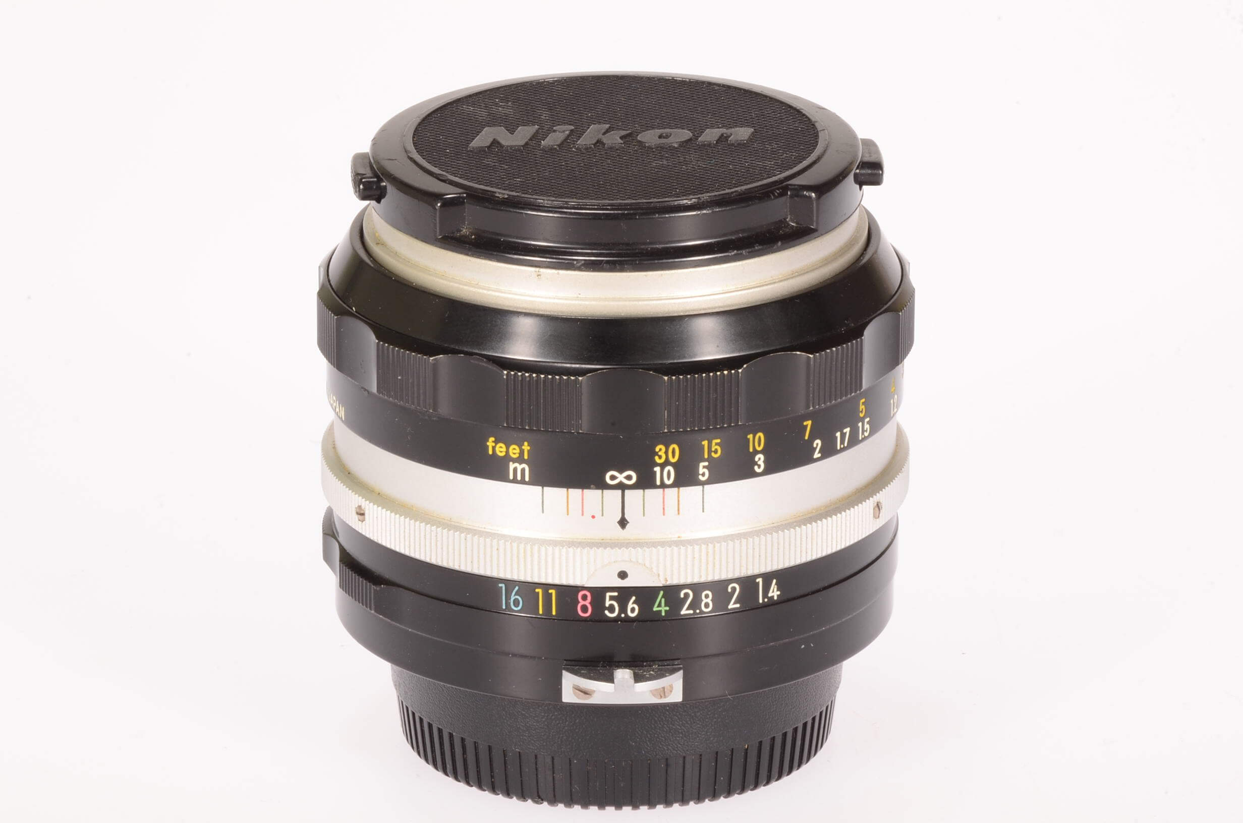 Nikon 50mm f1.4 Nikkor, pre AI, serviced, superb condition!