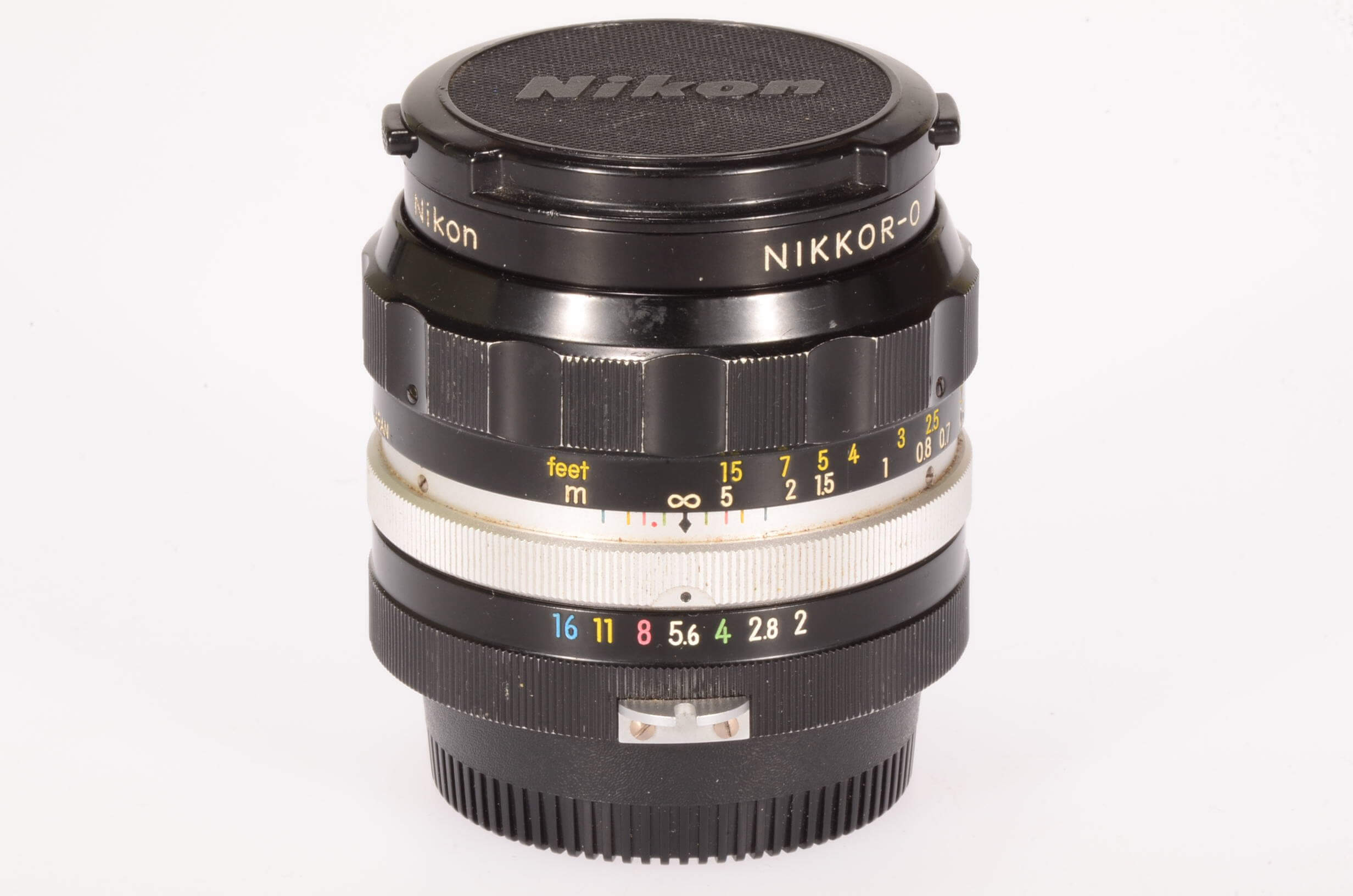 Nikon 35mm f2 Nikkor, pre AI, serviced