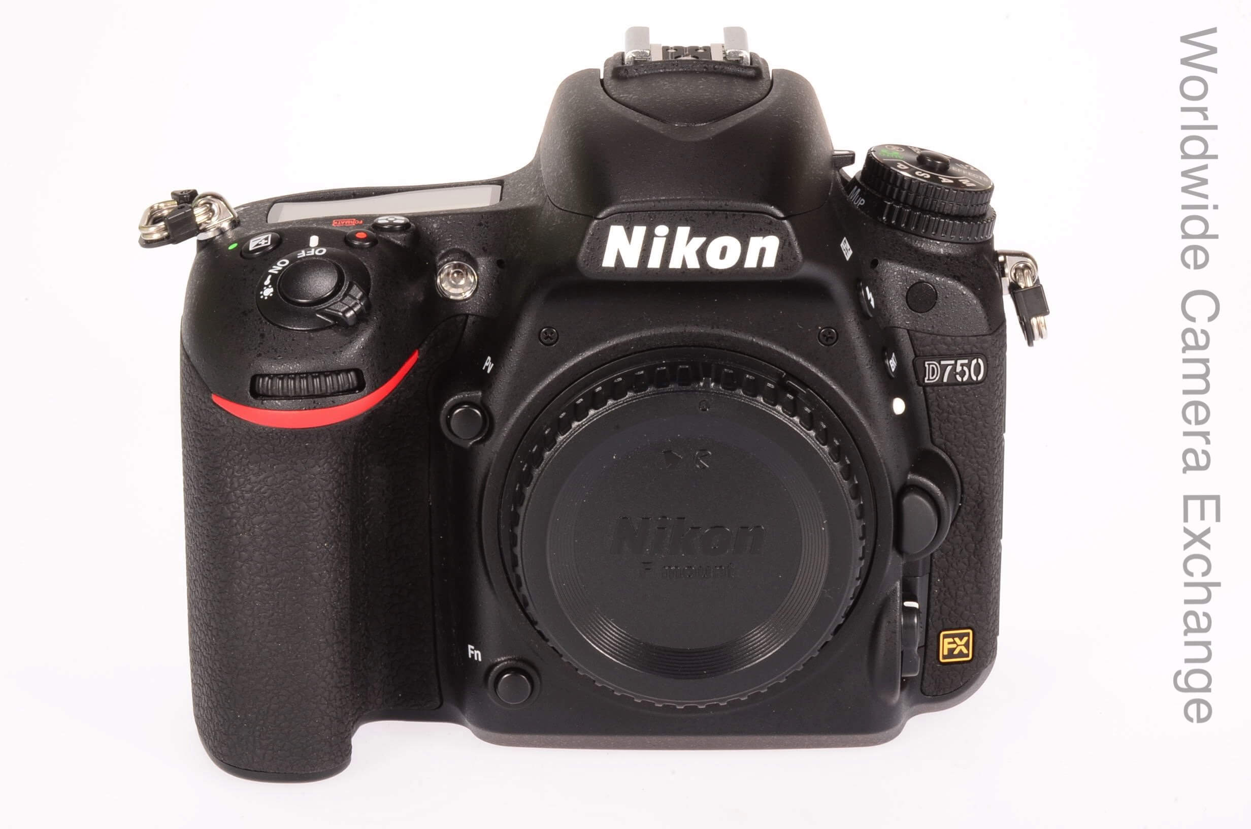 Nikon D750 body, UK supplied, no flare! 435 actuations!