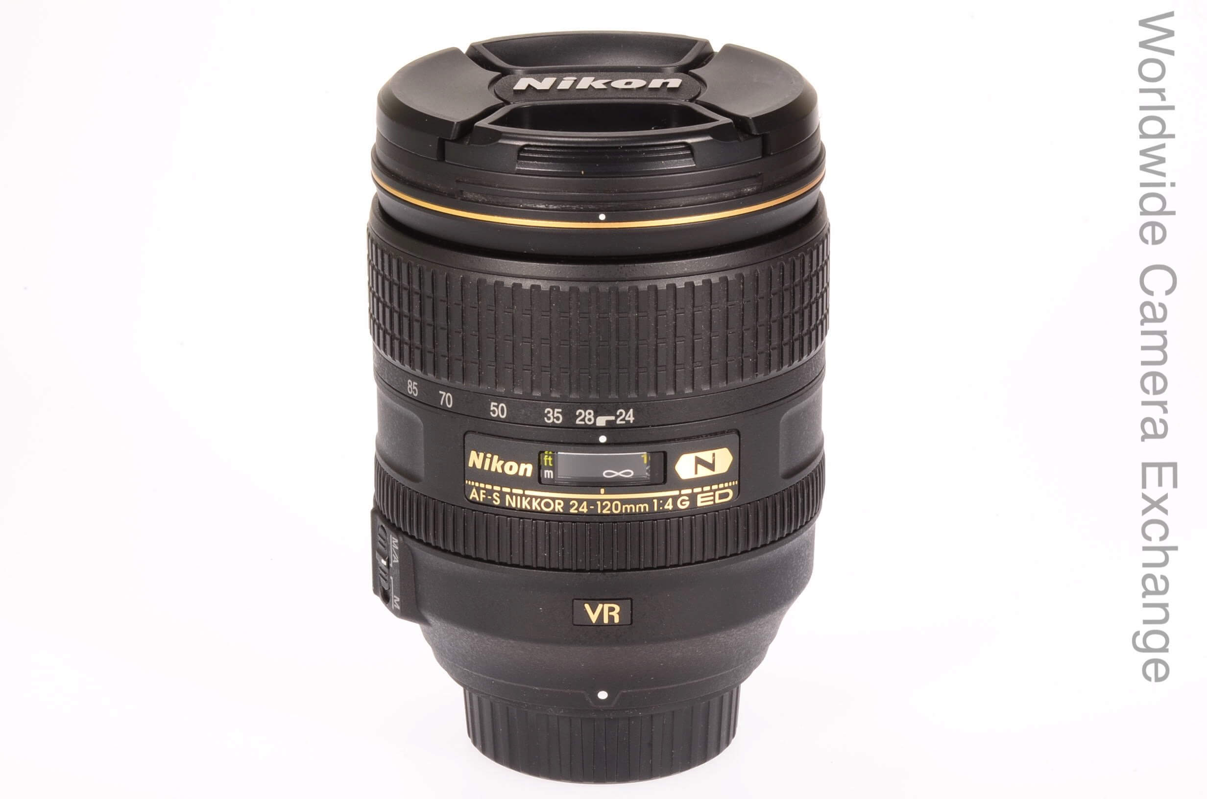 Nikon 24-120mm f4 AF-S G VR, UK supplied, virtually unused