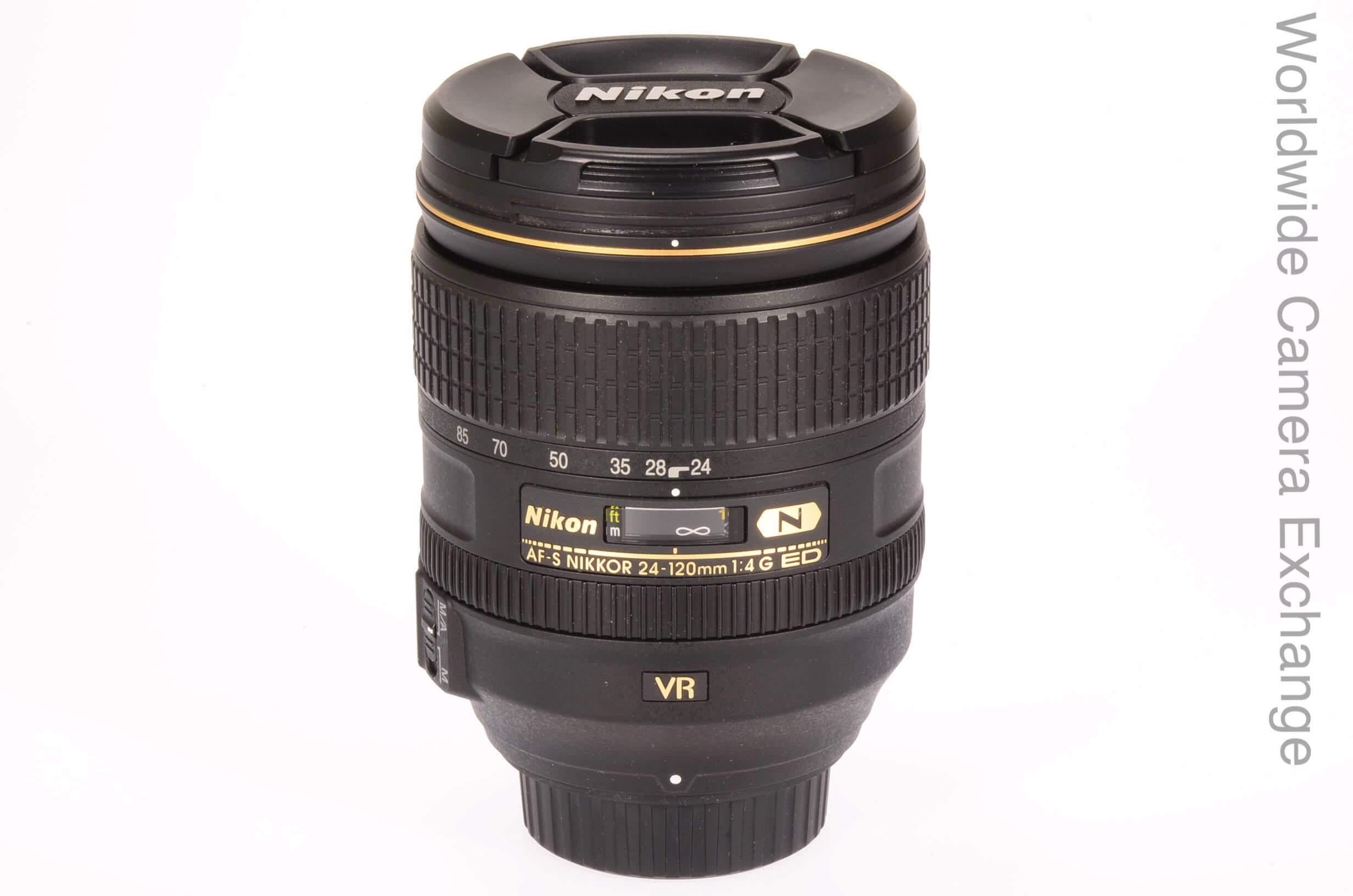Nikon 24-120mm f4 AF-S G VR, UK supplied, virtually unused