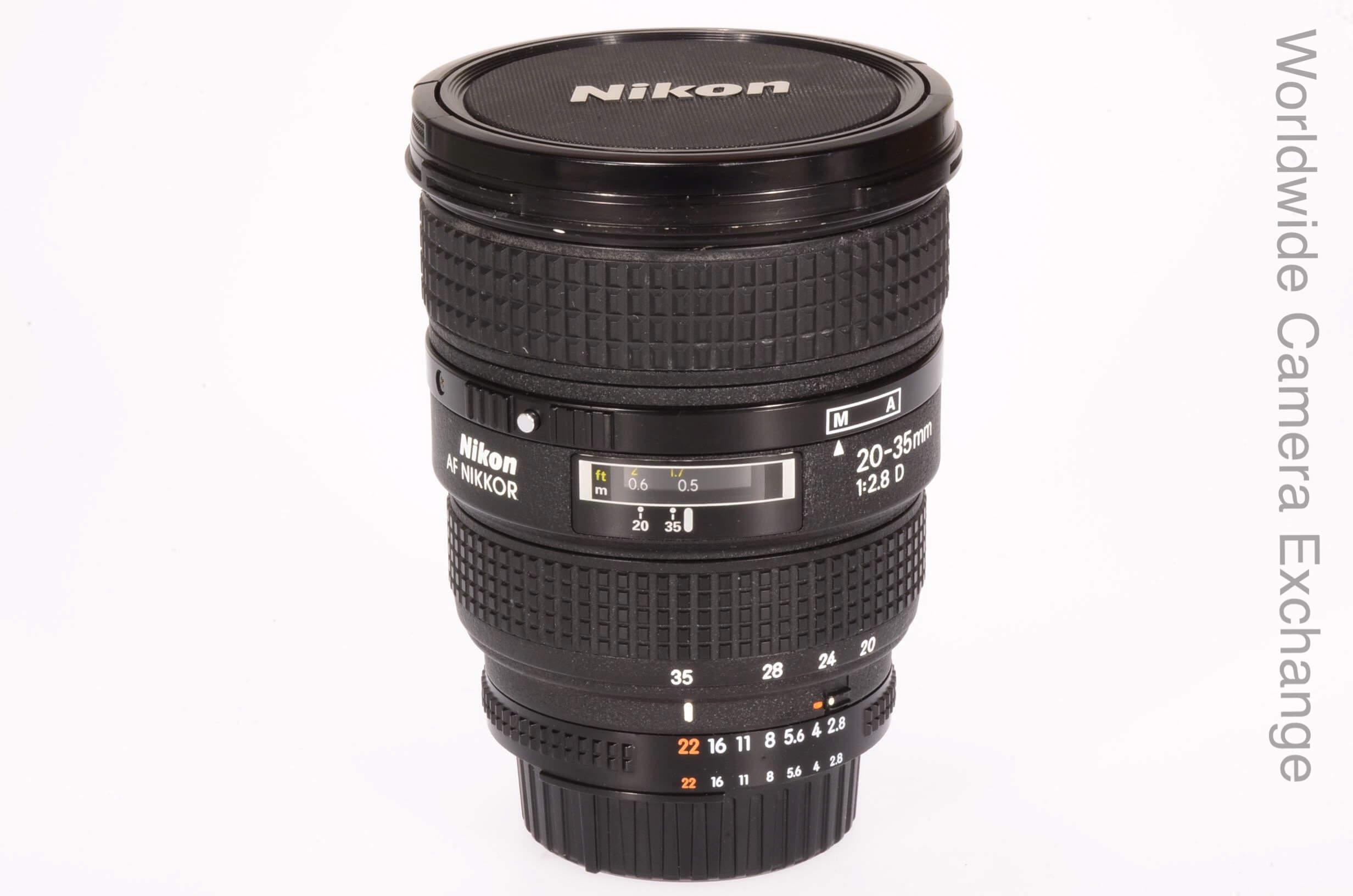 Nikon 20-35mm f2.8 AF D lens