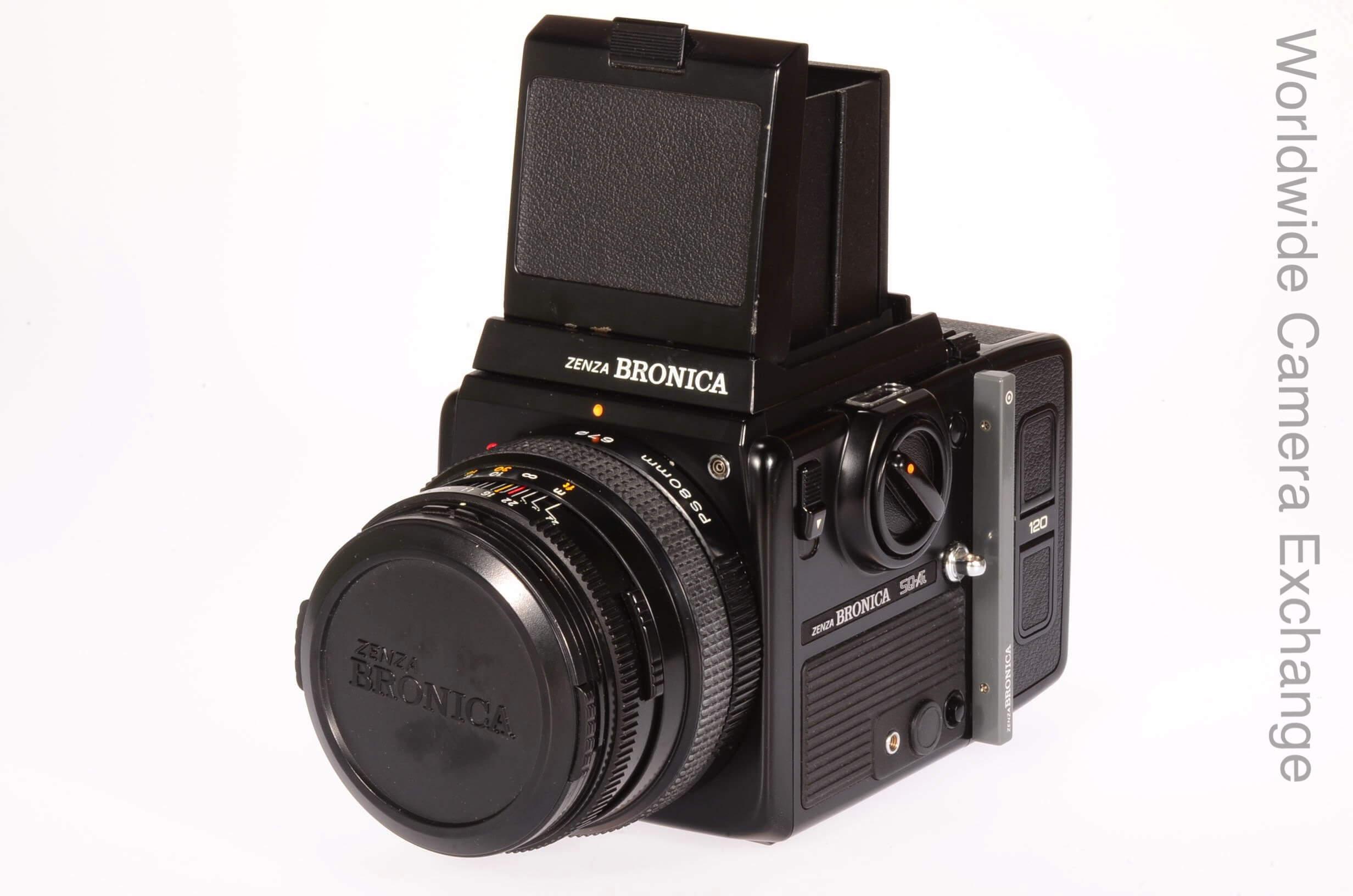 Bronica SQAi camera complete, boxed