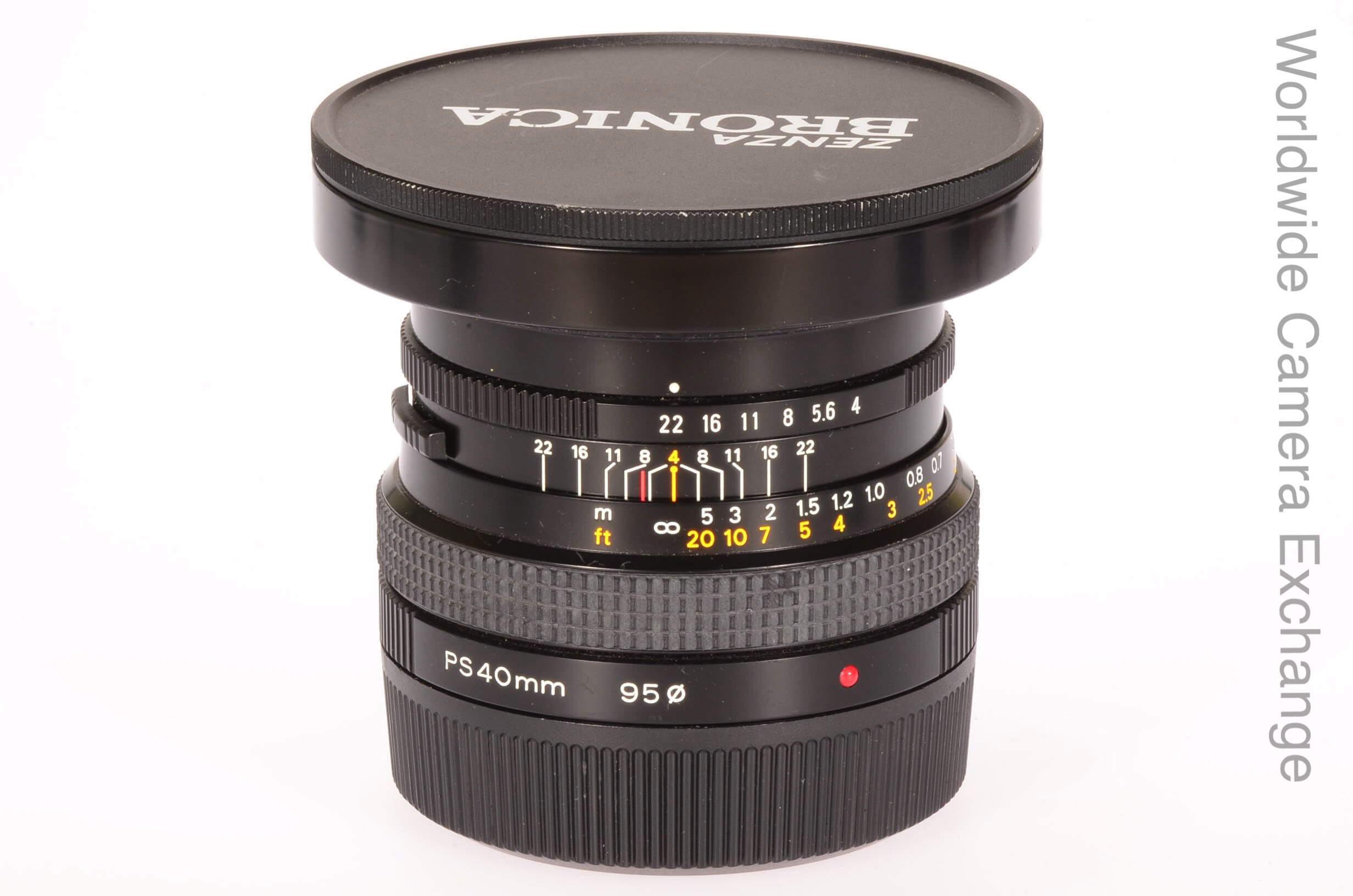 Bronica 40mm f4 Zenzanon PS, virtually mint!