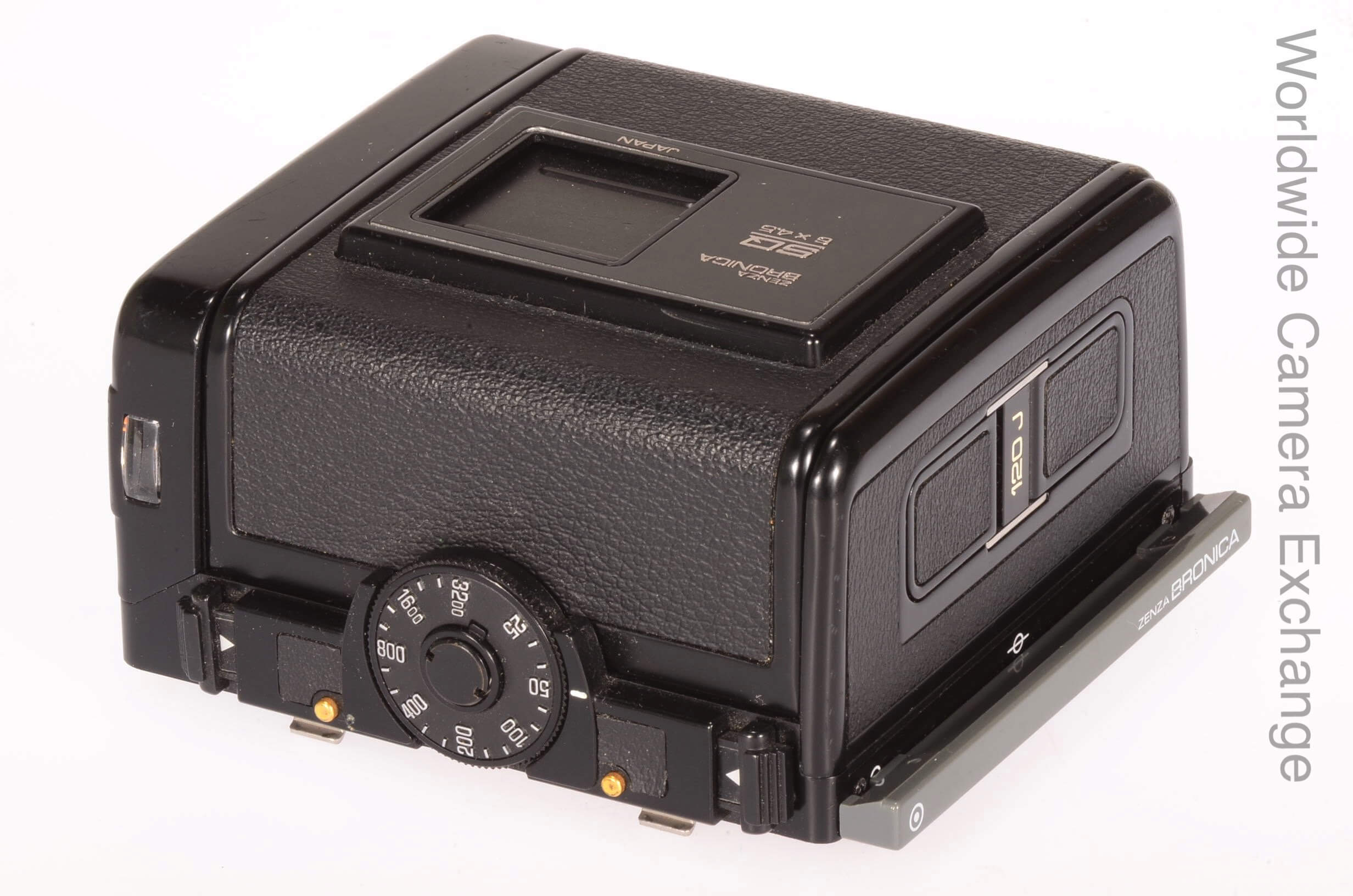 Bronica SQA-J 120 6x4.5 back, boxed