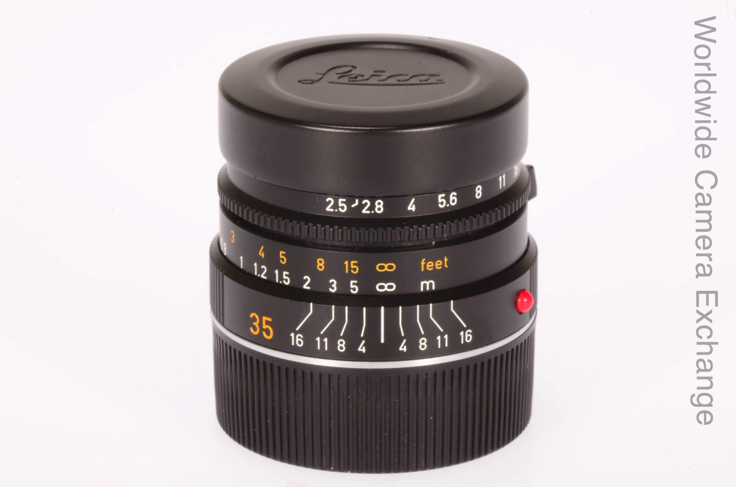 Leica 35mm f2.5 Summarit M, 6-bit, mint!