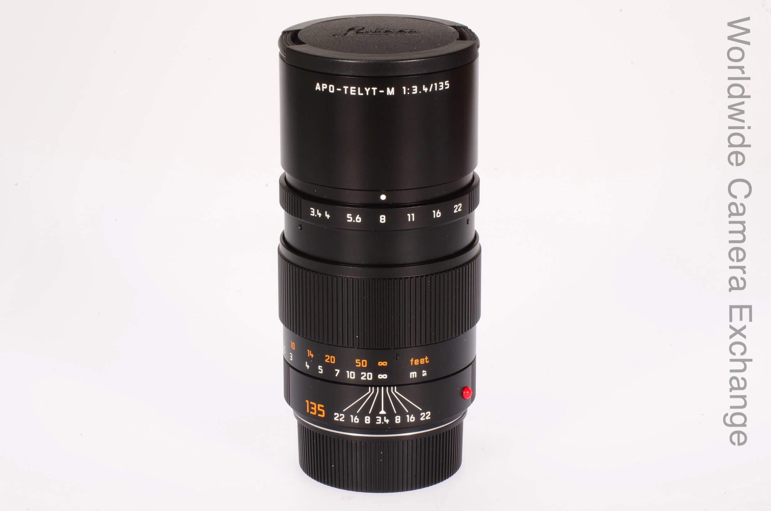 Leica 135mm f3.4 Apo Telyt M, 6 bit, latest, totally mint!