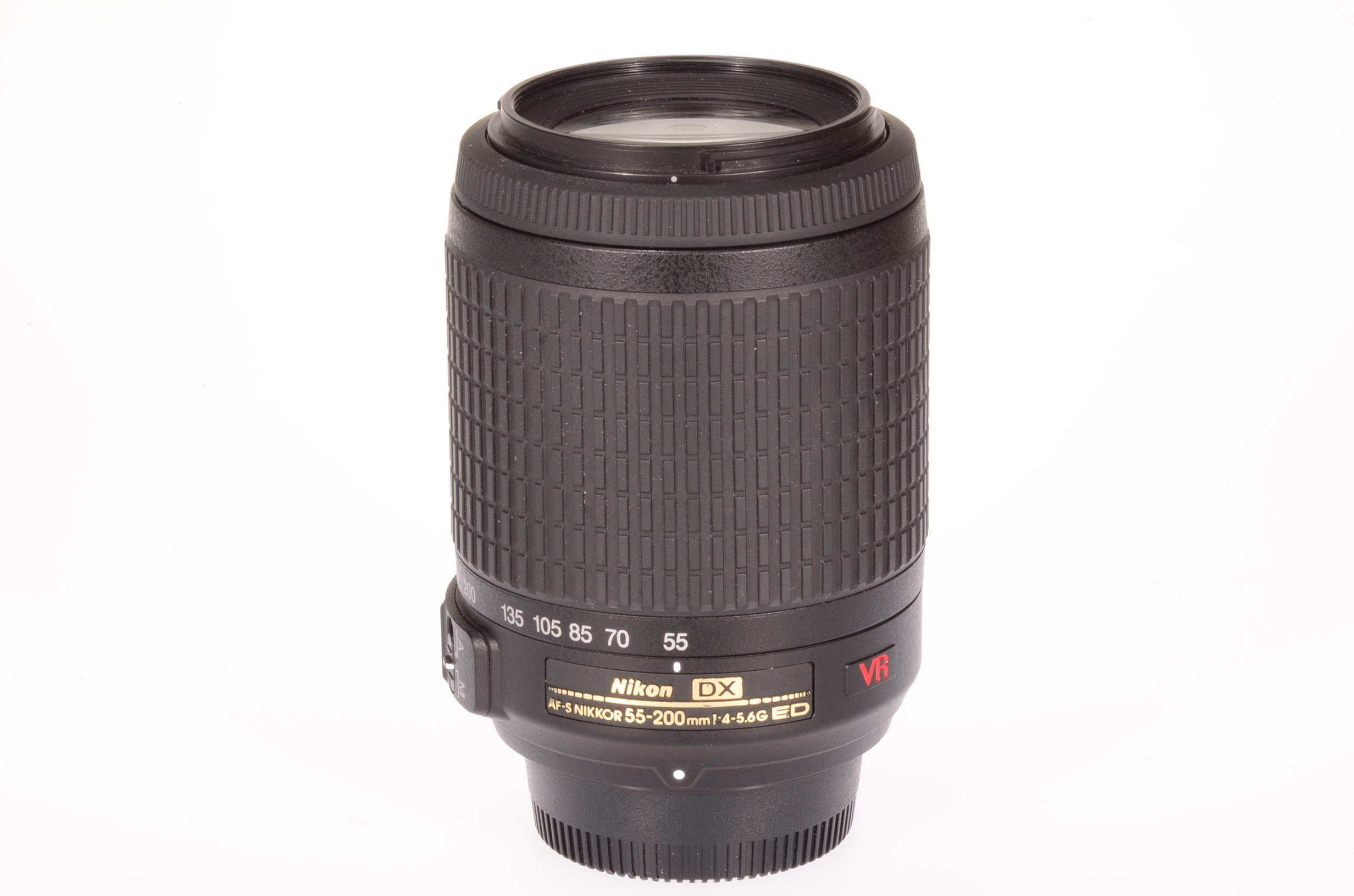 Nikon 55-200mm f4-5.6 AF-S Nikkor VR DX G, virtually mint