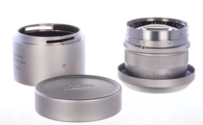 Leitz (Leica) 125mm f2.5 Hektor