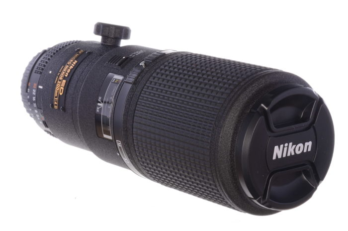 Super-rare 200mm f4 Micro-Nikkor