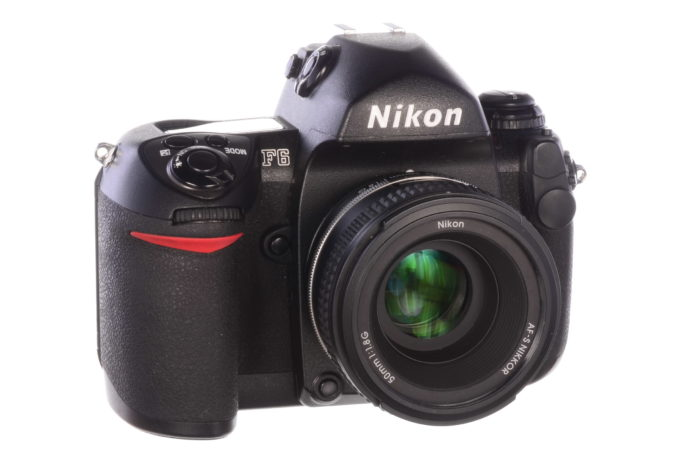Nikon F6 - the ultimate autofocus film SLR